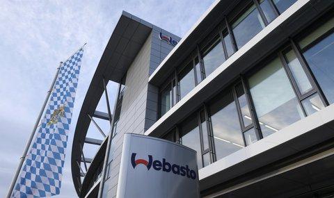 In der Firmenzentrale von Webasto läuft seit heute wieder der Betrieb.